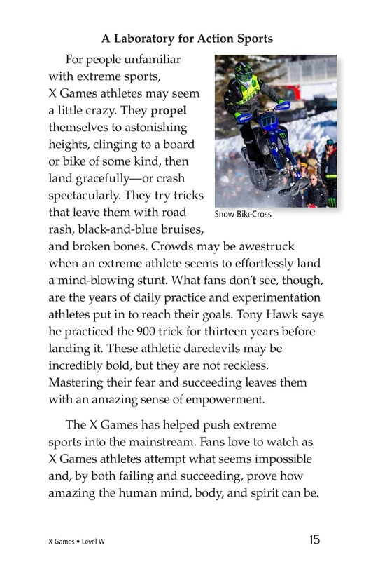 Book Preview For X Games Page 15