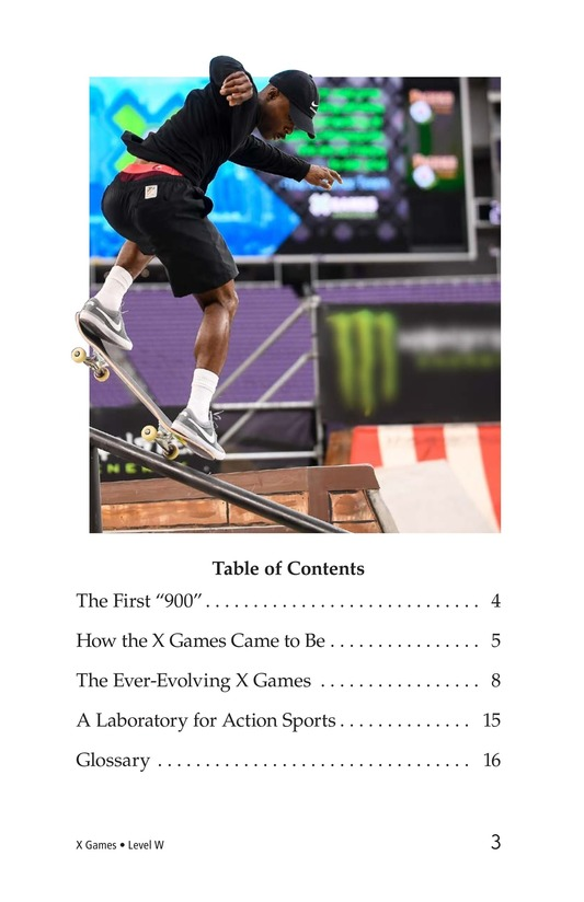 Book Preview For X Games Page 3