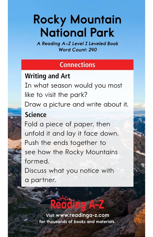 Book Preview For Rocky Mountain National Park Page 17