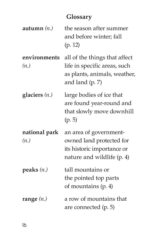 Book Preview For Rocky Mountain National Park Page 16