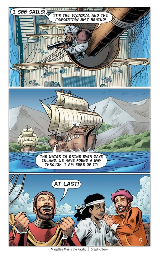 Book Preview For Magellan Meets the Pacific Page 10