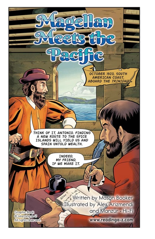 Book Preview For Magellan Meets the Pacific Page 2