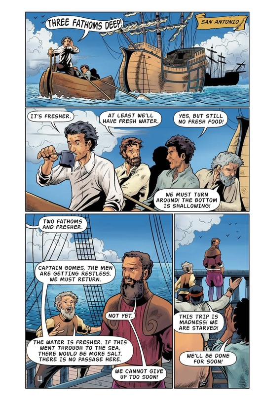 Book Preview For Magellan Meets the Pacific Page 5