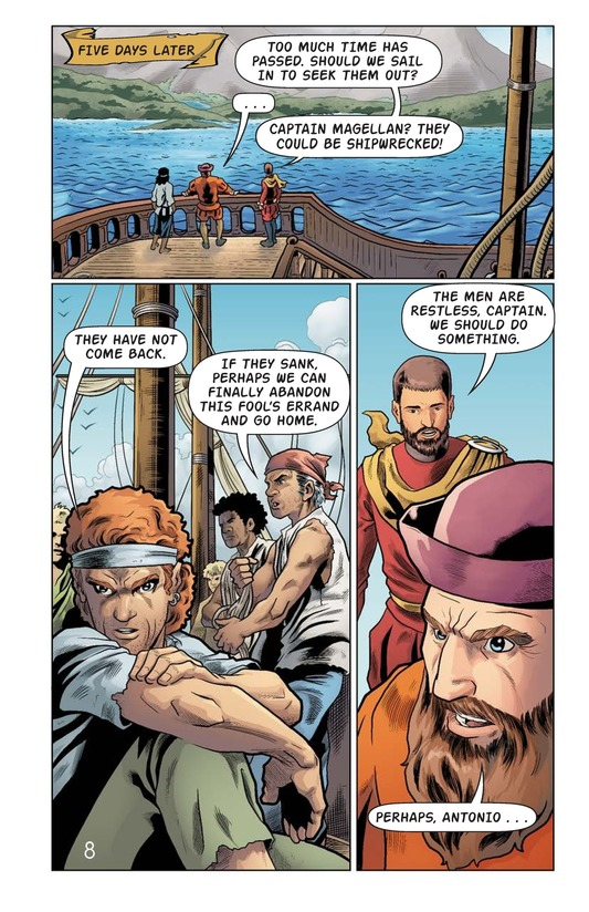 Book Preview For Magellan Meets the Pacific Page 9