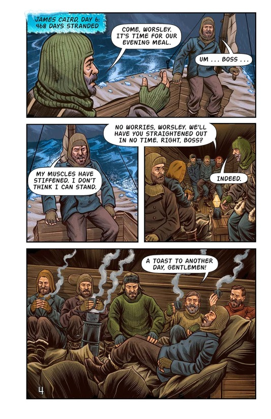 Book Preview For Shackleton's Antarctic Escape Page 5
