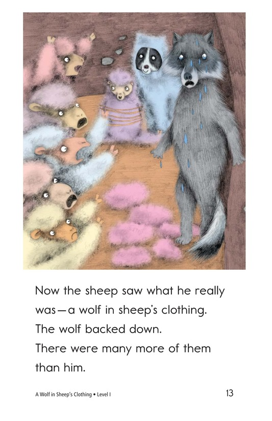 Book Preview For A Wolf in Sheep's Clothing Page 13