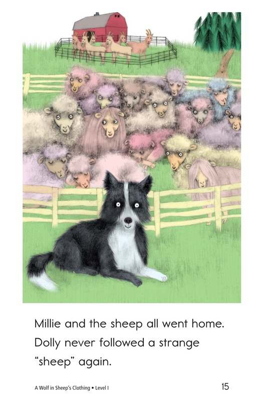 Book Preview For A Wolf in Sheep's Clothing Page 15
