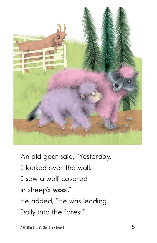 Book Preview For A Wolf in Sheep's Clothing Page 5