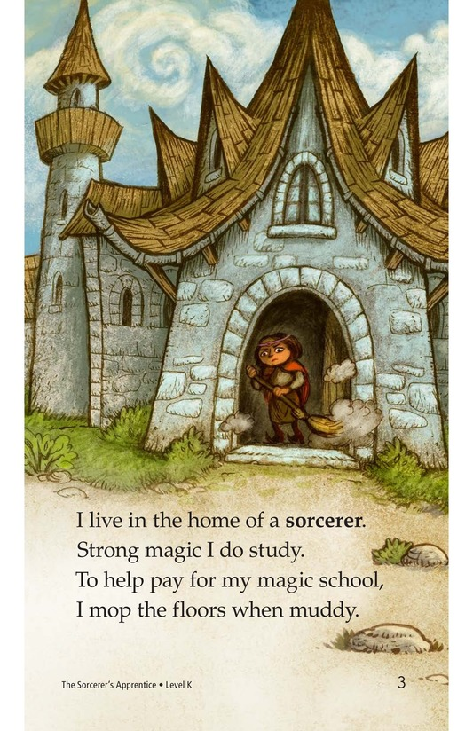 Book Preview For The Sorcerer's Apprentice Page 3