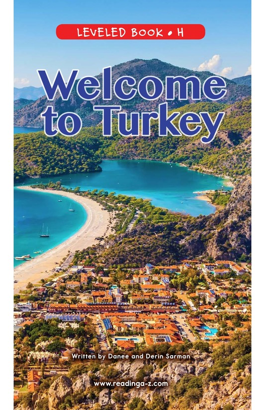 Book Preview For Welcome to Turkey Page 0