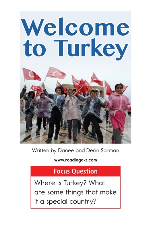 Book Preview For Welcome to Turkey Page 1