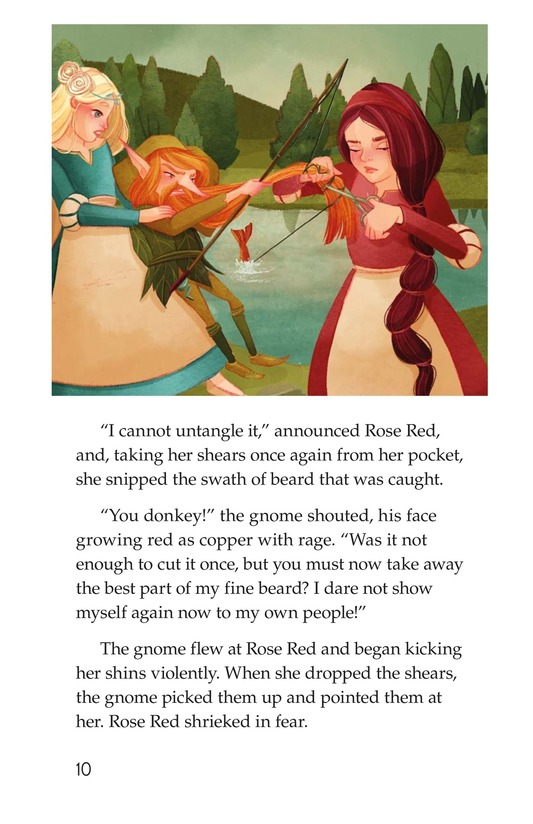Book Preview For Snow White and Rose Red Page 10