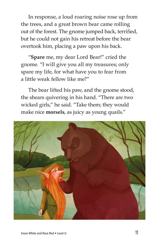 Book Preview For Snow White and Rose Red Page 11
