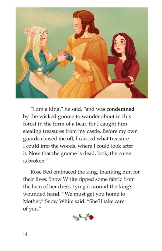 Book Preview For Snow White and Rose Red Page 14