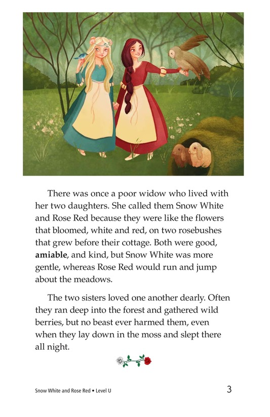 Book Preview For Snow White and Rose Red Page 3