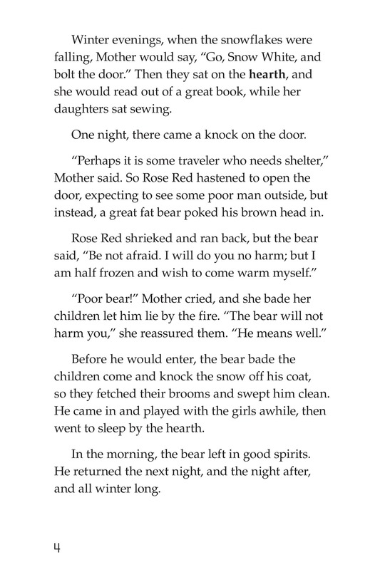 Book Preview For Snow White and Rose Red Page 4
