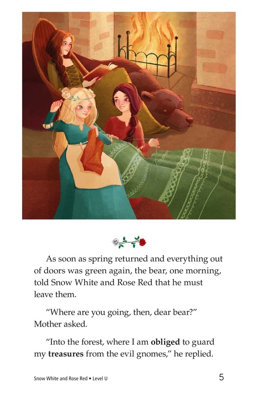 Book Preview For Snow White and Rose Red Page 5