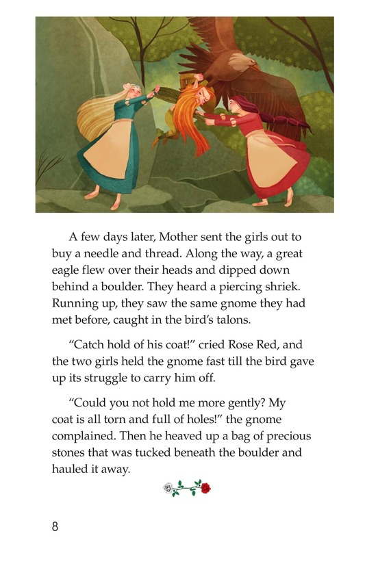 Book Preview For Snow White and Rose Red Page 8