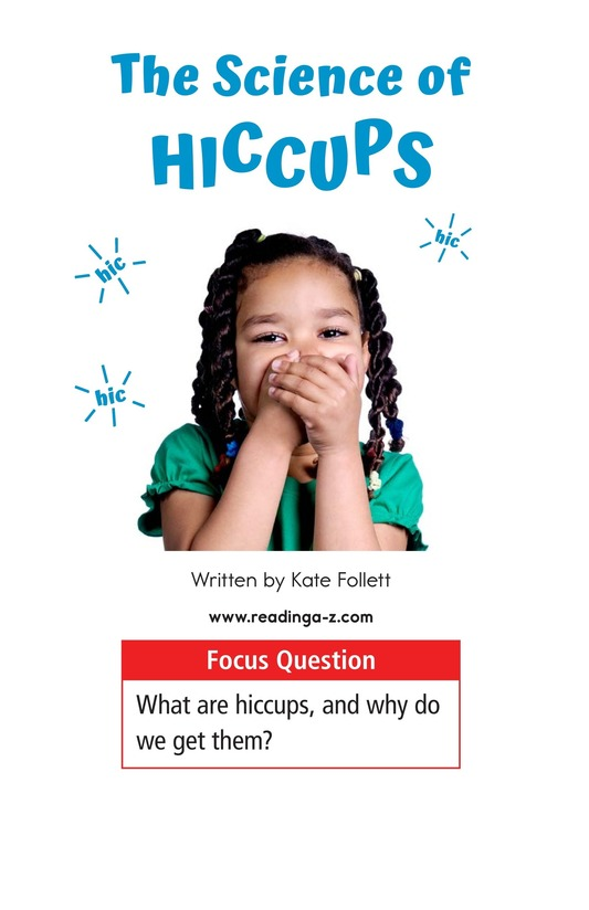 Book Preview For The Science of Hiccups Page 1