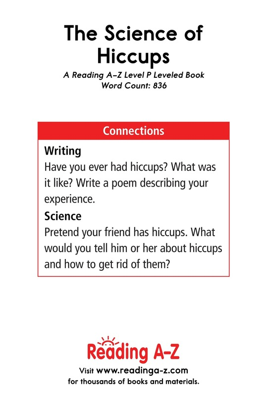 Book Preview For The Science of Hiccups Page 17