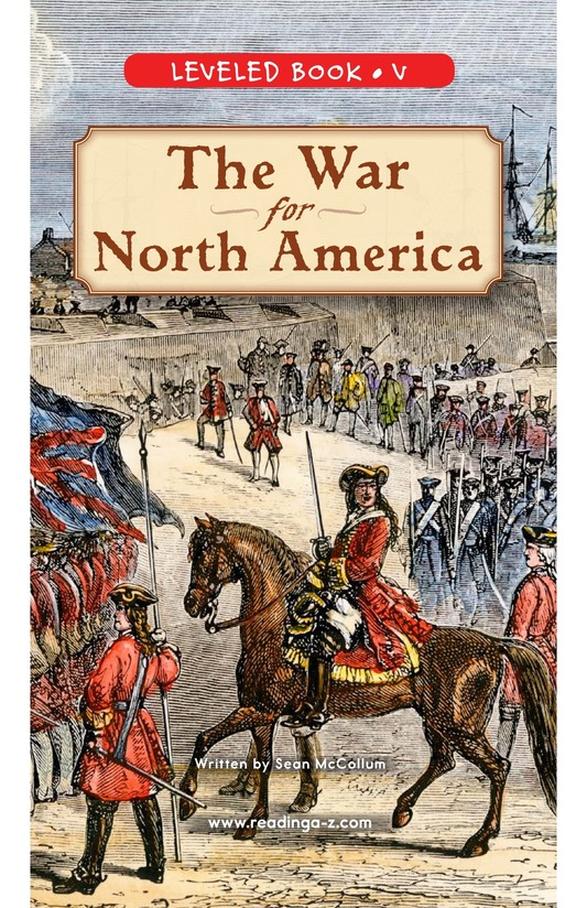 Book Preview For The War for North America Page 0