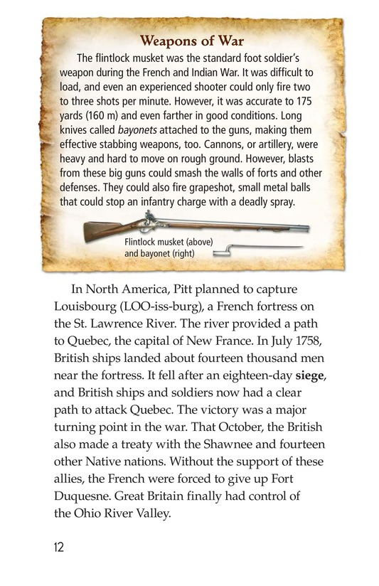 Book Preview For The War for North America Page 12