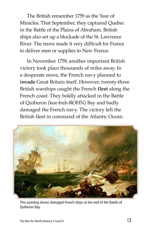 Book Preview For The War for North America Page 13