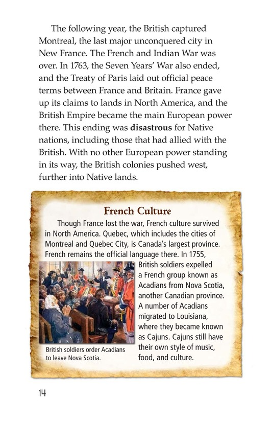 Book Preview For The War for North America Page 14