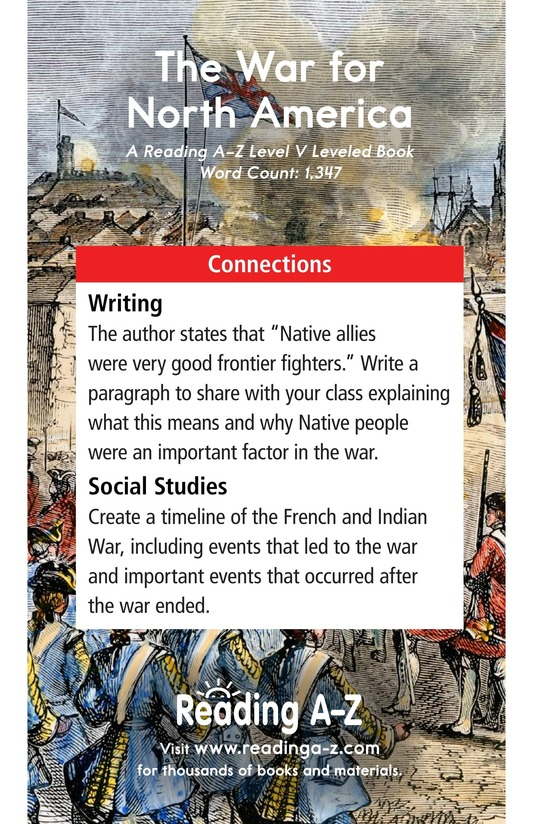 Book Preview For The War for North America Page 17