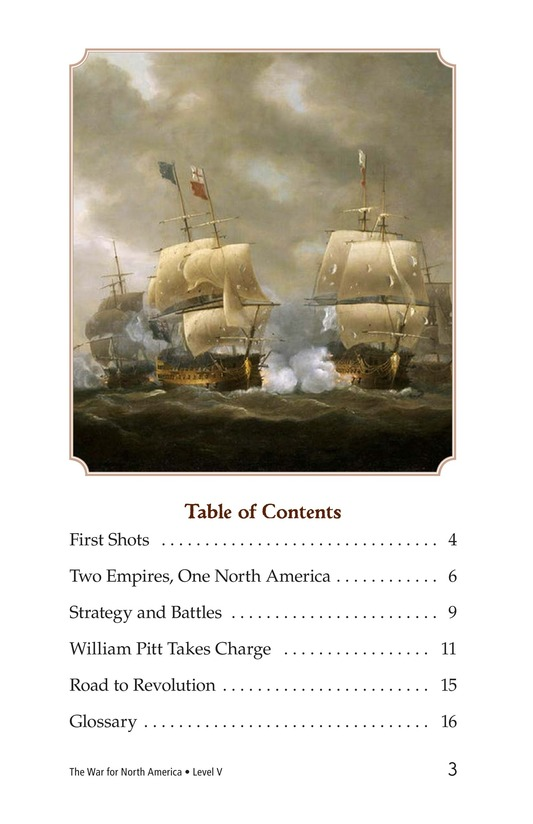 Book Preview For The War for North America Page 3