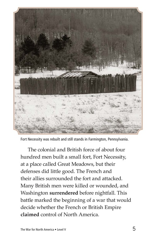 Book Preview For The War for North America Page 5