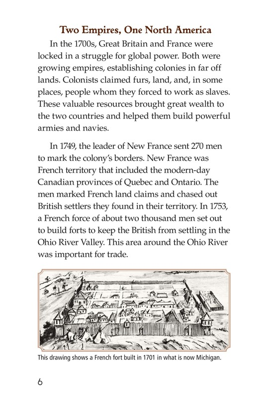 Book Preview For The War for North America Page 6