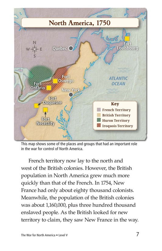 Book Preview For The War for North America Page 7