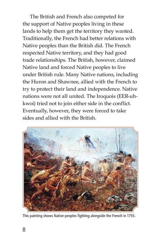 Book Preview For The War for North America Page 8