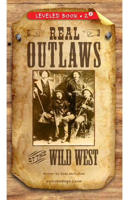 Book Preview For Real Outlaws of the Wild West Page 0