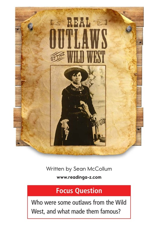 Book Preview For Real Outlaws of the Wild West Page 1