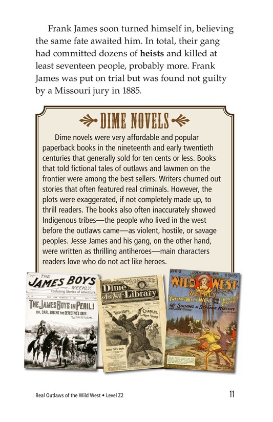 Book Preview For Real Outlaws of the Wild West Page 11