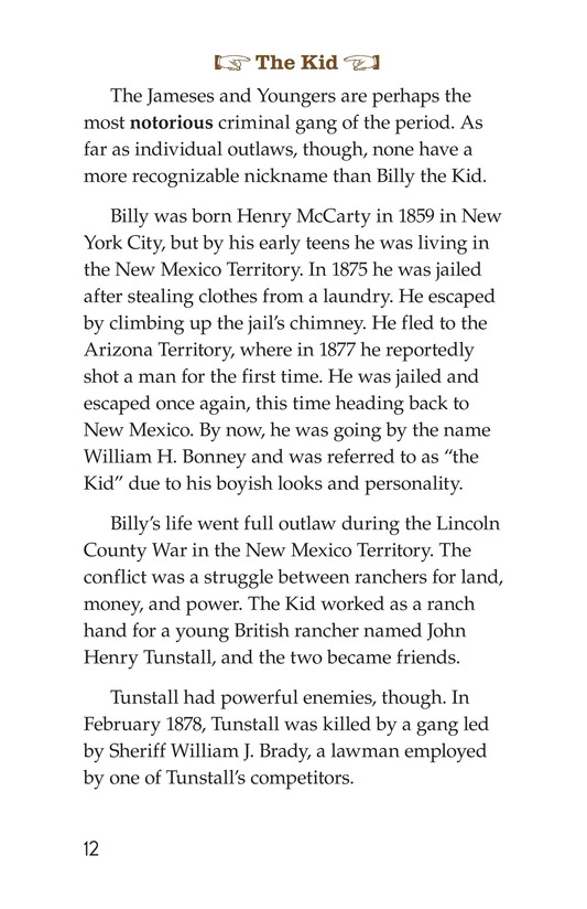 Book Preview For Real Outlaws of the Wild West Page 12
