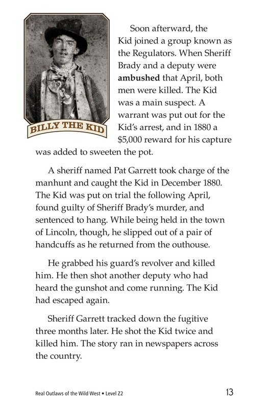 Book Preview For Real Outlaws of the Wild West Page 13