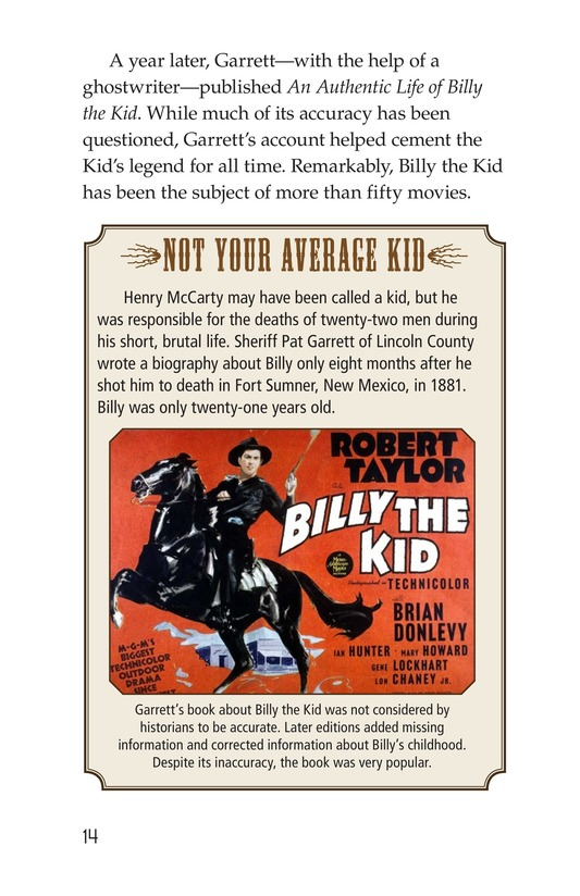 Book Preview For Real Outlaws of the Wild West Page 14
