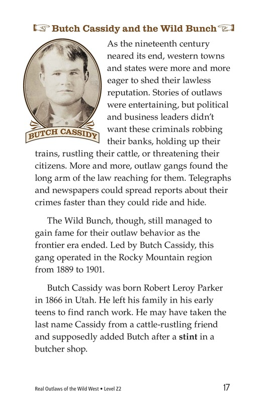 Book Preview For Real Outlaws of the Wild West Page 17
