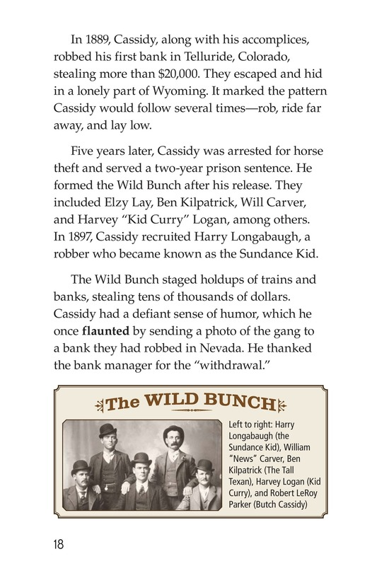 Book Preview For Real Outlaws of the Wild West Page 18