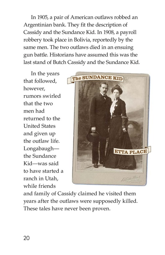 Book Preview For Real Outlaws of the Wild West Page 20