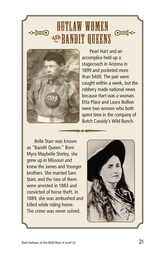 Book Preview For Real Outlaws of the Wild West Page 21