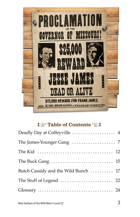 Book Preview For Real Outlaws of the Wild West Page 3