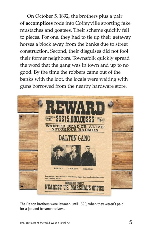 Book Preview For Real Outlaws of the Wild West Page 5