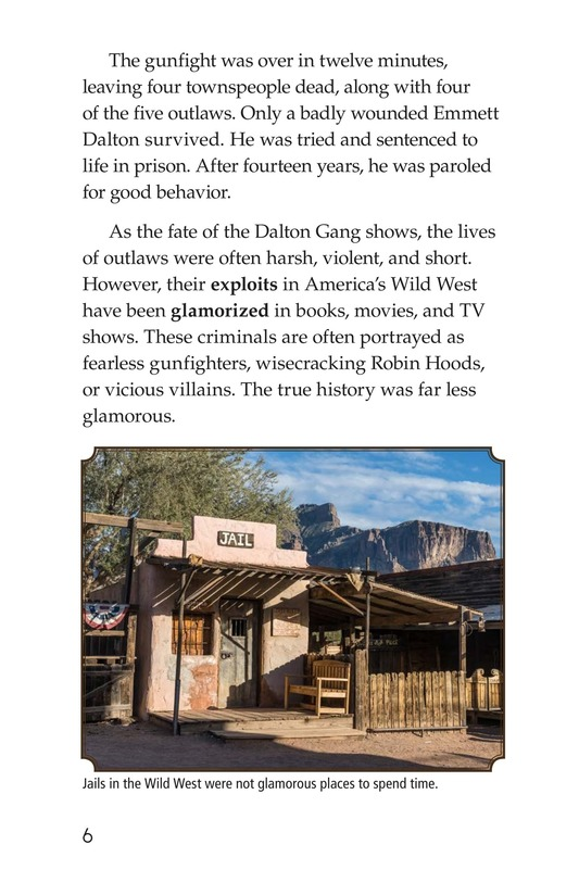 Book Preview For Real Outlaws of the Wild West Page 6