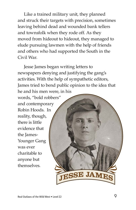 Book Preview For Real Outlaws of the Wild West Page 9