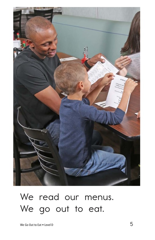 Book Preview For We Go Out to Eat Page 5
