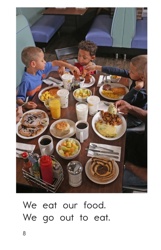 Book Preview For We Go Out to Eat Page 8